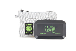 All-In-One Padded Pouch | Smell Proof Pocket & Rolling Tray | odor eliminator & storage container protective case 811926024588
