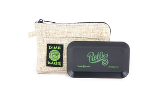 All-In-One Padded Pouch | Smell Proof Pocket & Rolling Tray | odor eliminator & storage container protective case  811926024595