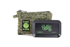 All-In-One Padded Pouch | Smell Proof Pocket & Rolling Tray | odor eliminator & storage container protective case 811926024601
