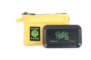 All-In-One Padded Pouch | Smell-Proof Pocket & Rolling Tray