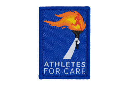 Athletes for Care | Dime Bags | Patch | Patches with a Purpose