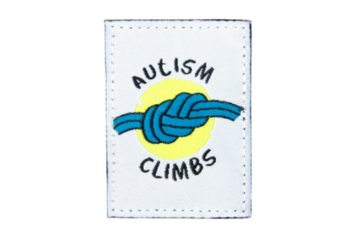 Autism Climbs Patch | Dime Bags | Patch | Patches with a Purpose