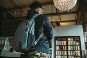 City Dweller Aqua Backpack