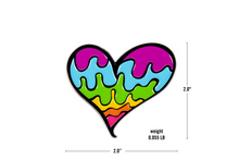 Load image into Gallery viewer, Ellie Paisley Heart Pin | Exclusive Pin | Collab Pin