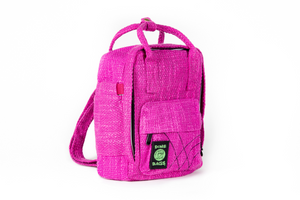Ellie Paisley Hot Box Magenta | Collab | Mini Backpack | Exclusive Color | Hempster | Pink | Magenta | Cute Backpack | Cute Everyday Purse | Mini Backpack | Small Backpack | Cute Bag | Dime Bags | Dime Bag | Ellie Paisley | Dimebags