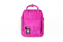 Load image into Gallery viewer, Ellie Paisley Hot Box Magenta | Collab | Mini Backpack | Exclusive Color | Hempster | Pink | Magenta | Cute Backpack | Cute Everyday Purse Mini Backpack | Small Backpack | Cute Bag | Book Bag