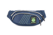 Load image into Gallery viewer, Classic Fanny Pack | 3 Zippered Compartments | Adjustable Hip Strap | Interchangeable Velcro Label