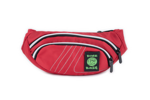 Classic Fanny Pack | 3 Zippered Compartments | Adjustable Hip Strap | Interchangeable Velcro Label