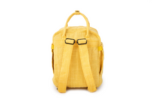 Load image into Gallery viewer, Ellie Paisley Hot Box Yellow | Collab | Mini Backpack | Exclusive Color | Hempster | Yellow | Cute Backpack | Cute Everyday Purse | Mini Backpack | Small Backpack | Cute Bag | Dime Bags | Dime Bag | Ellie Paisley | Dimebags