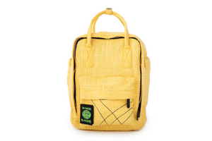 Ellie Paisley Hot Box Yellow | Collab | Mini Backpack | Exclusive Color | Hempster | Yellow | Cute Backpack | Cute Everyday Purse | Mini Backpack | Small Backpack | Cute Bag | Dime Bags | Dime Bag | Ellie Paisley | Dimebags