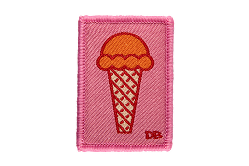 Ice Cream Cone Patch | Dime Bags | Patch