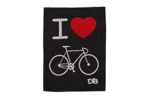 I Heart Biking Patch | Dime Bags | Patch | Bicycle