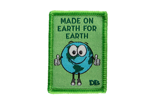Made on Earth for Earth Patch | Dime Bags | Patches with a Purpose | Patch