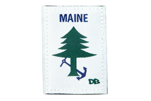 Maine Flag Patch | Maine | Dime Bags | Patch