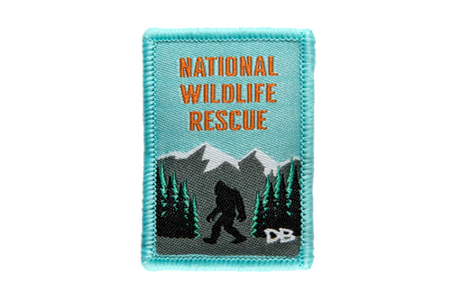 National Wildlife Rescue Patch | Dime Bags | Patches with a Purpose | Patch
