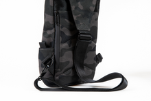 Load image into Gallery viewer, Omerta | The Don | Smell Proof | Carbon Lined Technology | Cross-body Sling | Cross-body Backpack | Smell Proof Backpack | Dime Bags | Dime Bag | Dimebags | Dimebag | Mini Backpack | Smellproof | Carbon Activated Technology | Smell Proof Bag | Activated Carbon | Water Resistant Bags | Water Resistant Backpack