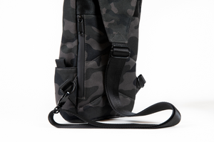 Omerta | The Don | Smell Proof | Carbon Lined Technology | Cross-body Sling | Cross-body Backpack | Smell Proof Backpack | Dime Bags