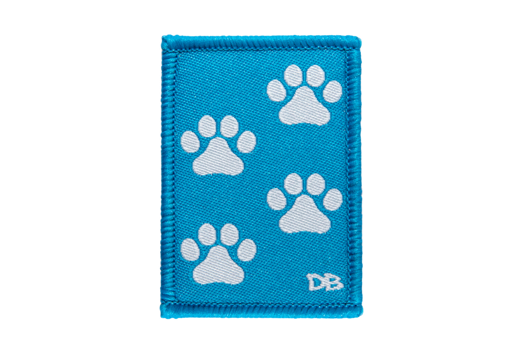Paw Prints Patch | Dime Bags | Patches with a Purpose | Patc