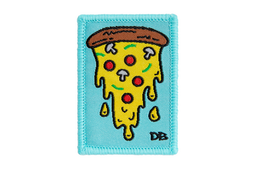 Pizza Patch | Dime Bags Patch | Velcro Label