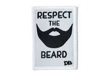 Load image into Gallery viewer, Respect the Beard Patch | Dime Bags | Patch | Beard