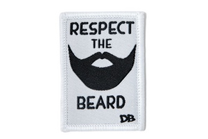 Respect the Beard Patch | Dime Bags | Patch | Beard
