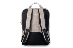 Slab Bag Backpack | Laptop Compartment | Padded Shoulder Straps | Hidden Pockets