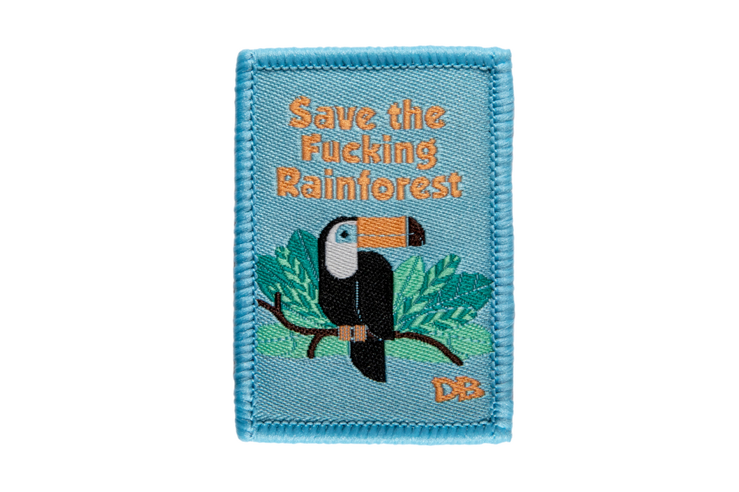 Save the Rainforest Patch | Dime Bags | Patches with a Purpose | Patch