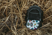 Load image into Gallery viewer, Sticker of the Month Backpack | $10,000 Dime Bags Backpack | 2020 Sticker of the Month | Collectable Dime Bag | Exclusive Dime Bag