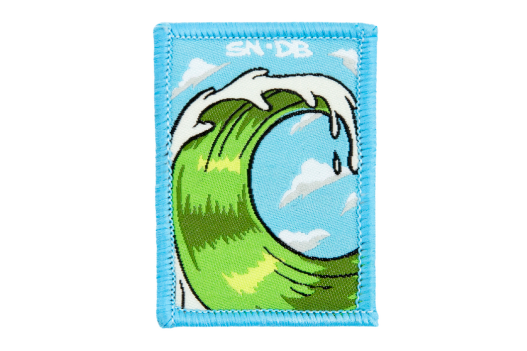 Sirron Norris The Wave Patch | The Wave | Dime Bags | Patch
