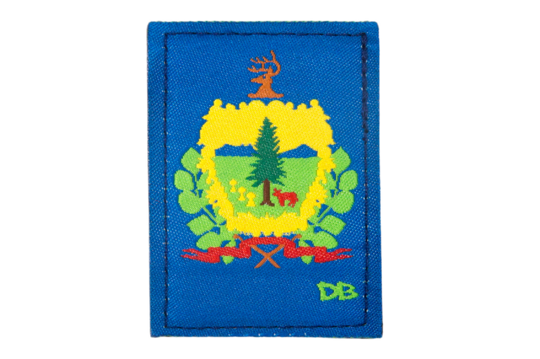 Vermont State Patch | Dime Bags | Patch | Vermont
