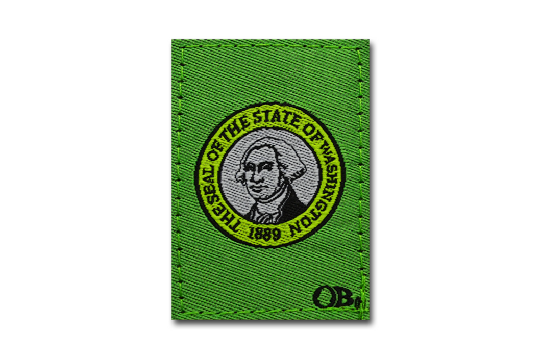 Washington State Patch | State Patch | Dime Bags | Washington Patch | Patch