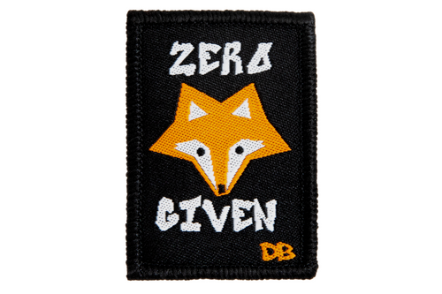 Zero Fox Given Patch | Dime Bags | Patch