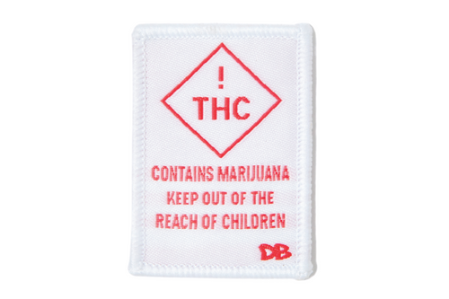 THC Warning Patch | Dime Bags | Patch
