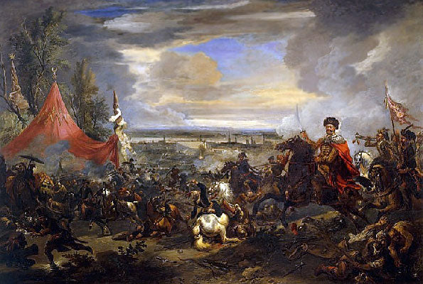 painting of the Battle at Kahlenberg