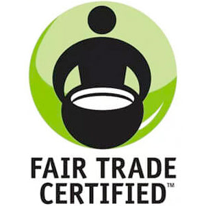 certified fair trade label