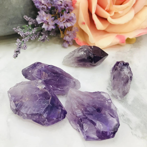 Amethyst Natural Points