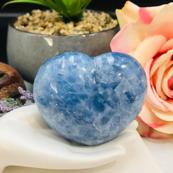 Calcite Blue Heart