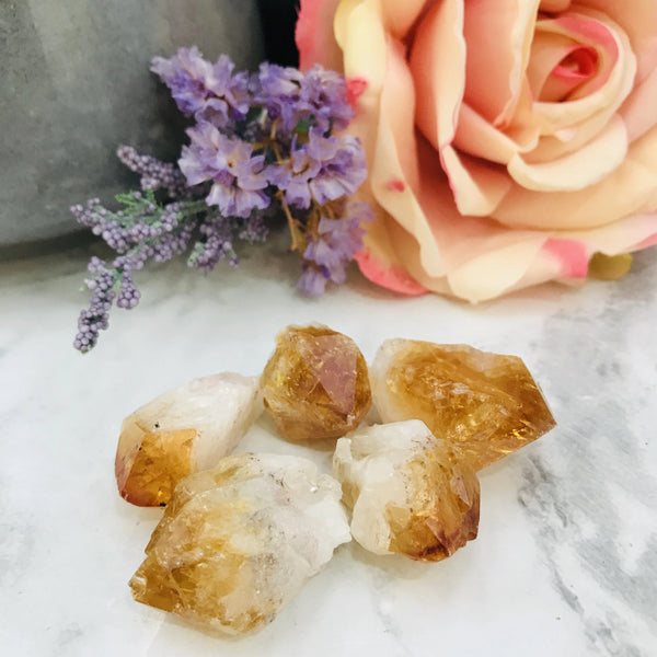 Citrine Natural Points