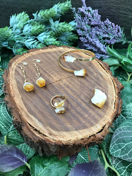 Citrine Jewellery Set