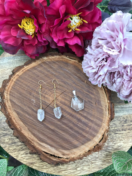 Clear Quartz Jewellery