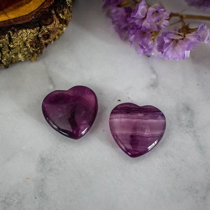 Amethyst Heart - Small