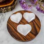 Selenite - Hearts Small