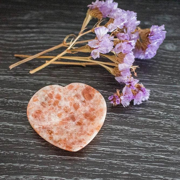 Sunstone Heart Shaped Dish