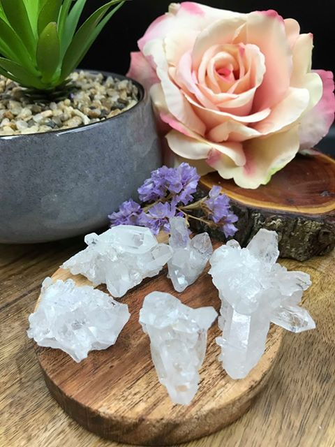 Clear Quartz Mini Cluster