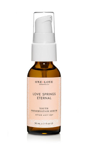 One Love Organics Natural Youth Preservation Facial Serum