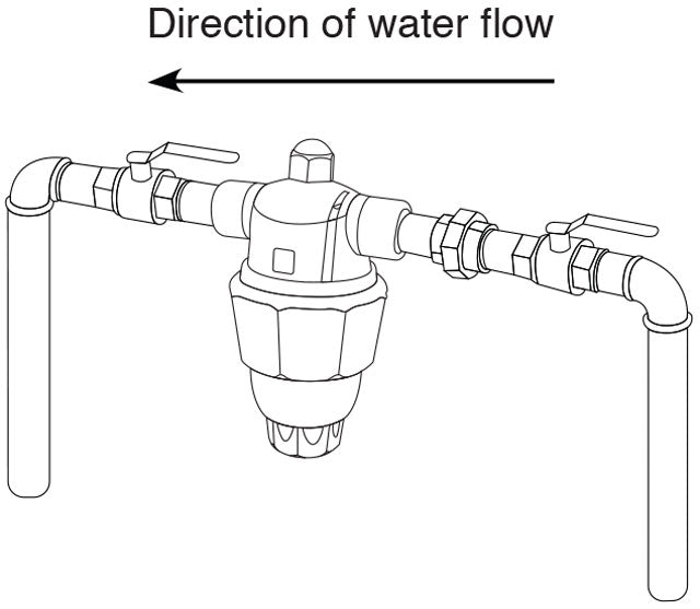 Hardless NG Lotus Water Filter Install Direction