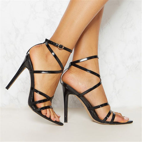 Strappy Party Heels