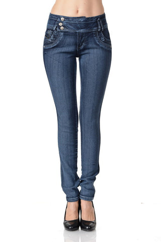 Highwaist Push Up Jeans