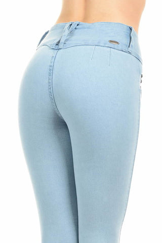 Light Blue Pushup Jeans