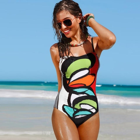 Artistic One Piece Swimsuit